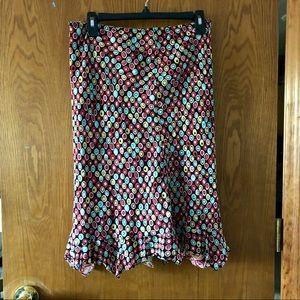 Dresses & Skirts - Reversible print skirt